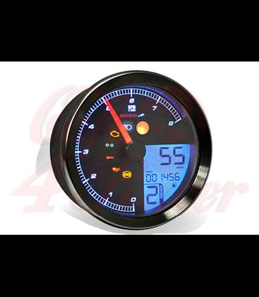 KOSO HD-01 Sportster 883 Tachometer,  čierny