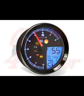 KOSO HD-01 Sportster 883 Tachometer, black Year: 2004-2013
