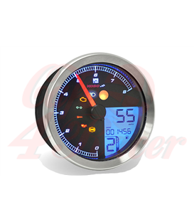 KOSO HD-01 Sportster 883 Tachometer, chrome, Year: 2004-2013