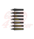 HIGHSIDER LED sequence-indicator STS 1, black 2C anodized, smoke lens, E-marked