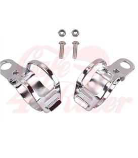 winker clamp, 2 pcs., chromed, 27-36  mm, pair