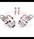 winker clamp, 2 pcs., chromed, 30-43  mm, pair
