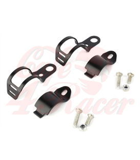 winker clamp, 2 pcs., black 30-43  mm, pair