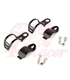 winker clamp, 2 pcs., black 30-43  mm, pair