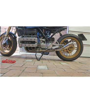 Exhaust K100  CR I header pipes + muffler