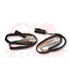 Adapter cables for indicators, for  Harley Davidson , pair