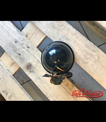 """5"""" 12V 35W Bottom Mount Metal Vintage Cafe Racer Headlight"""