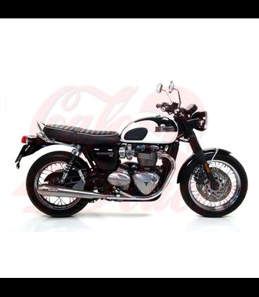 SW-MOTECH Windscreen Silver. Triumph Bonneville T120 (15-)