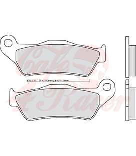 FERODO disc brake pad FDB 2039 P rear