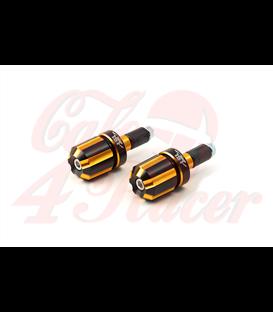 LSL  Bar koncovka  hliník, dvojfarebná, 90g, zlatá