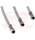 Flexible stainless steel brake line, 75 cm
