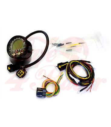 Digital Instrument Acewell 2853S black for BMW K series  KIT