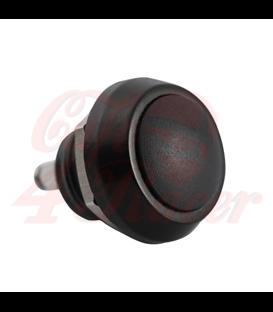 Vysoko kvalitné mikrospínačové tlačidlo - čierne