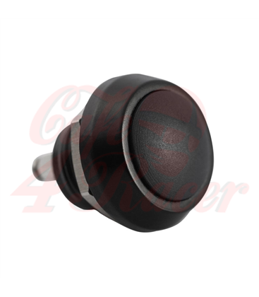 Billet Micro Switch Button - Momentary - M12 - Black