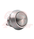 Vysoko kvalitné mikrospínačové tlačidlo - chróm