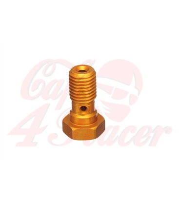 ABM banjo hollow screw Alu M10 x 1,25  gold