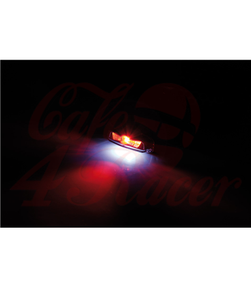 KOSO HAWKEYE LED taillight, smoke lens with license plate light