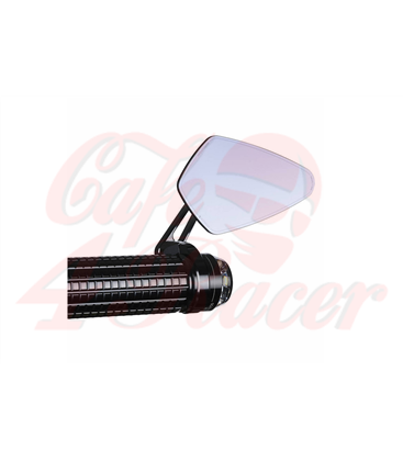 Motogadget m.view road glass-free rearview mirror for handlebar ends 1 inch and 22mm
