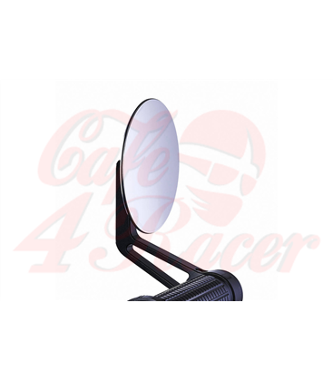 Motogadget CAFE glass-free rearview mirror for handlebar ends 1 inch and 22mm