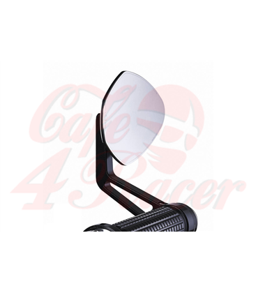 Motogadget FLIGHT glass-free rearview mirror for handlebar ends 1 inch and 22mm