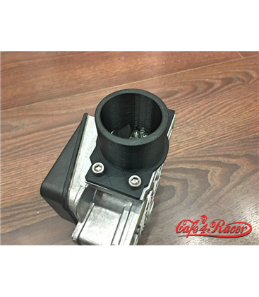 BMW K-Serie Air Intake Black PLA straight  54  mm outlet