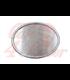 Oval Number Plate - alluminium