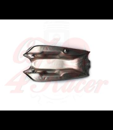 Aftermarket Raw Steel 1.6 Gallon CF125 Gas Tank