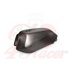 Aftermarket Raw Steel 2.3 Gallon CBT125 Gas Tank