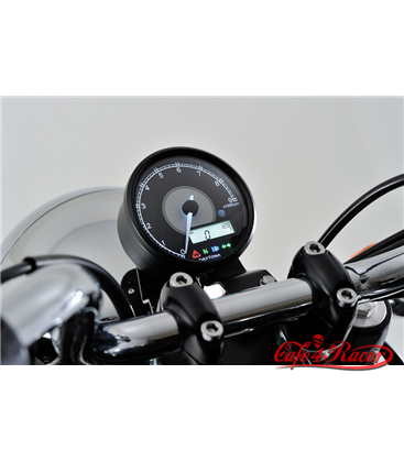 DAYTONA digital tachometer incl. speedo VELONA, black, Ø 80mm, 9.000 RPM