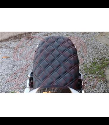 Motone Bonneville Skinny Seat - The Krait - Black