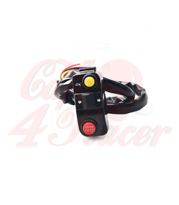 "Universal 7/8"" Aluminum Motorcycle 3-1 Handlebar Mount Switches"