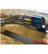 Thunder Slash  + pipe for BMW K75 right side
