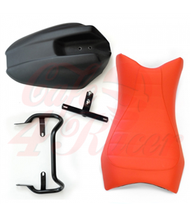 Sella Monoposto Solo seat  BMW RnineT Orange