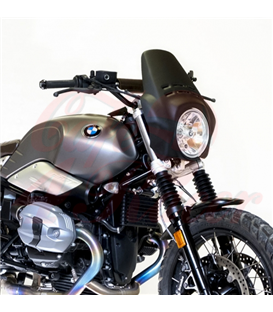 Windshield Fenouil   for  BMW R9T Scrambler / Pure, matte black
