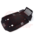 Engine protection plate in aluminium  for  BMW R9T Roadster / Pure / Racer / Urban GS /Scrambler / R120GS  black
