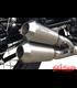 IRONHEAD Stainless Steel Exhaust BMW R Nine T, 14-, Dual Exite, Slip On, RACING