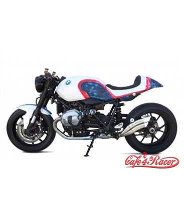 IXRACE 2 Silencer, stainless steel, BMW R Nine T, 14-