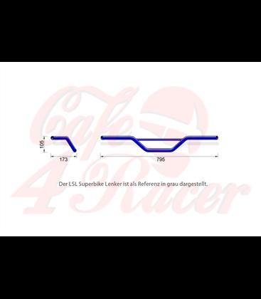 Replica handlebar,XT 500 chrome