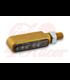 HIGHSIDER CNC LED turn signal BRONX, gold, tinted glass