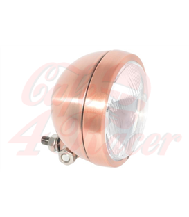 HIGHWAY HAWK 4 ½ inch Spotlight Bates  copper