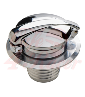 BMW R45 - R100  series  Fuel Tank Gas Cap Polished MOZNA with lock