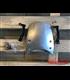 Čelný Štít hliníkový strieborný pre  BMW R NINE T (14-18)