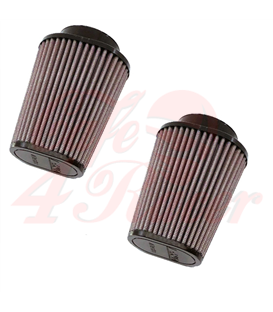 DNA Round Clamp 62mm Inlet Air Filter for BMW R9T (14-18) 2pcs
