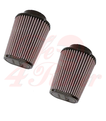 DNA Round Clamp 62mm Inlet vzd. filter pre  BMW R9T (14-18) 2ks