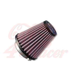 DNA Round Clamp 43mm Inlet 70mm Length Air Filter