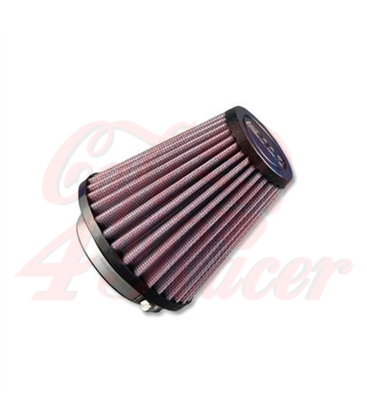 DNA Round Clamp 51mm Inlet 91mm Length Air Filter