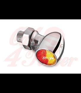 Kellermann LED indikátor  Bullet Atto DF, zadné/ brzdové/smerovkové svetlo, chrómové