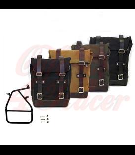 UNIT GARAGE Postranný držiak  s textilným kufrom  pre BMW  RNineT Series