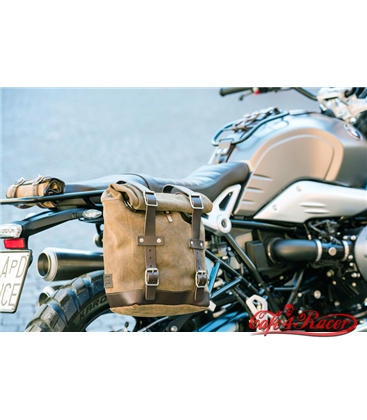Waxed Suede Side Pannier + Subframe NineT Series