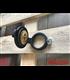 """Monza Flip Up Gas Tank Cap 2.5""""/62mm - wrinkle  Black"""